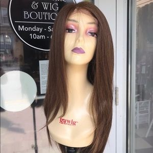 Accessories - Brown 6X6 Freepart Wig 2019 Hairstyle